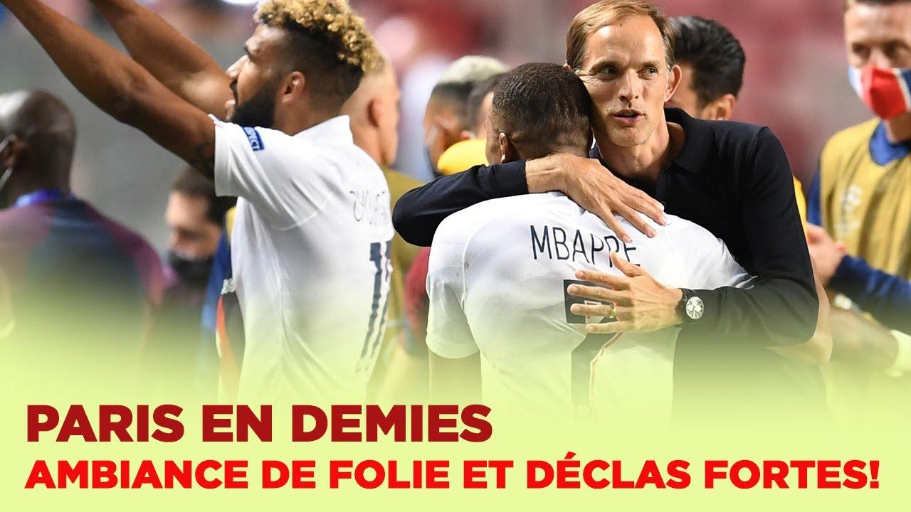 Atalanta-PSG : Revivez la folle soirée des joueurs du Paris Saint-Germain !