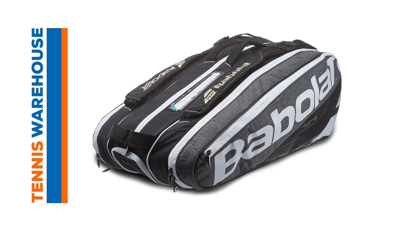Babolat Pure 9 Pack Bag. Tennis Warehouse 8ab0c3181ccd1