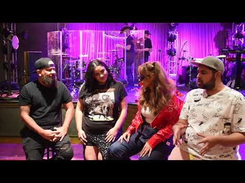 Alina Baraz talks plastic surgery rumors, Amy Winehouse & meeting Khalid on stage.
