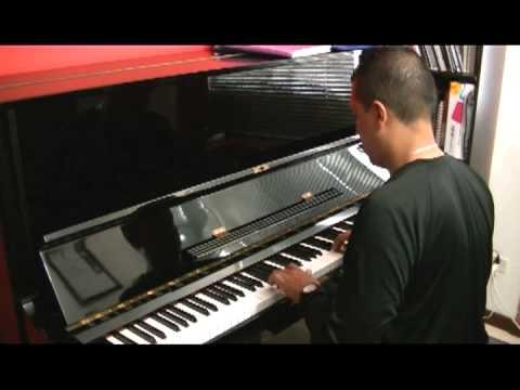 Clases particulares de piano (uno de mis estudiantes)