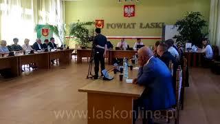 XLIV sesja Rady Miejskiej w Łasku