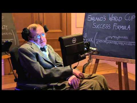 Professor Hawking reveals how to win World Cup - Newsnight