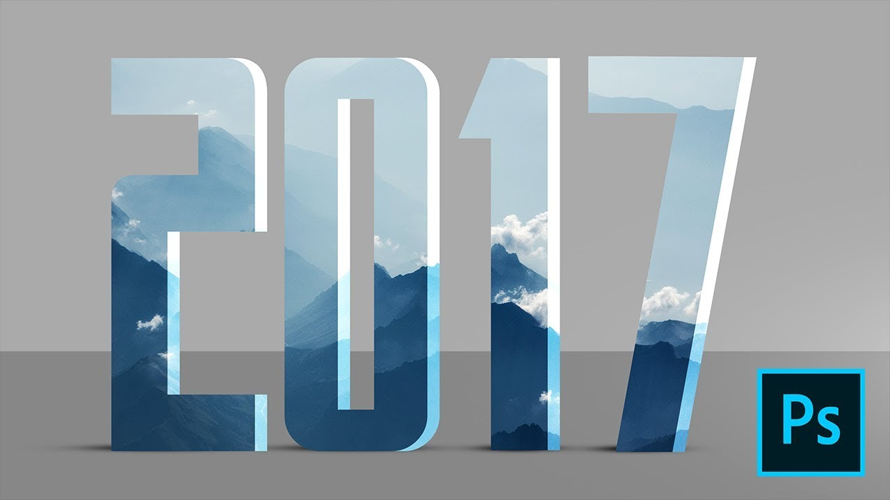 Text effects photoshop tutorial happy new year 2017 youtube baditri Gallery