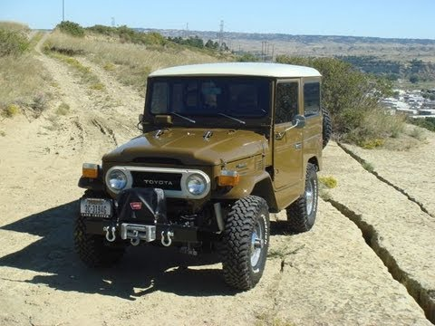 1976 toyota land cruiser fj40 youtube. Black Bedroom Furniture Sets. Home Design Ideas