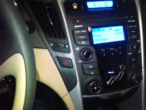 My New 2012 Hyundai Sonata Gls Interior Youtube