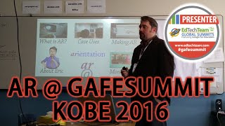AR at GAFE Summit Kobe