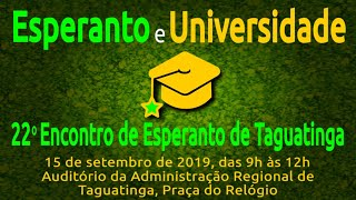 Esperanto e Universidade | Esperanto do ZERO!