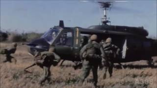 Paranoid and The Hollies (Vietnam war UH-1H tribute)