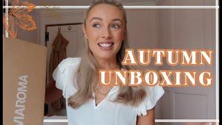 AUTUMN HOMEWARE SHOPPING & NEW BAG UNBOXING // Fashion Mumblr Vlogs