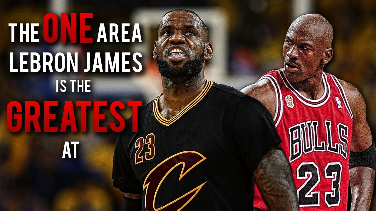 duża obniżka sprawdzić urok kosztów The ONE Area LeBron James Is The GREATEST At