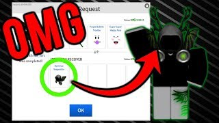 OMG I GOT DOMINUS VESPERTILIO!! | 42 ARTICLES TRADING ROBLOX