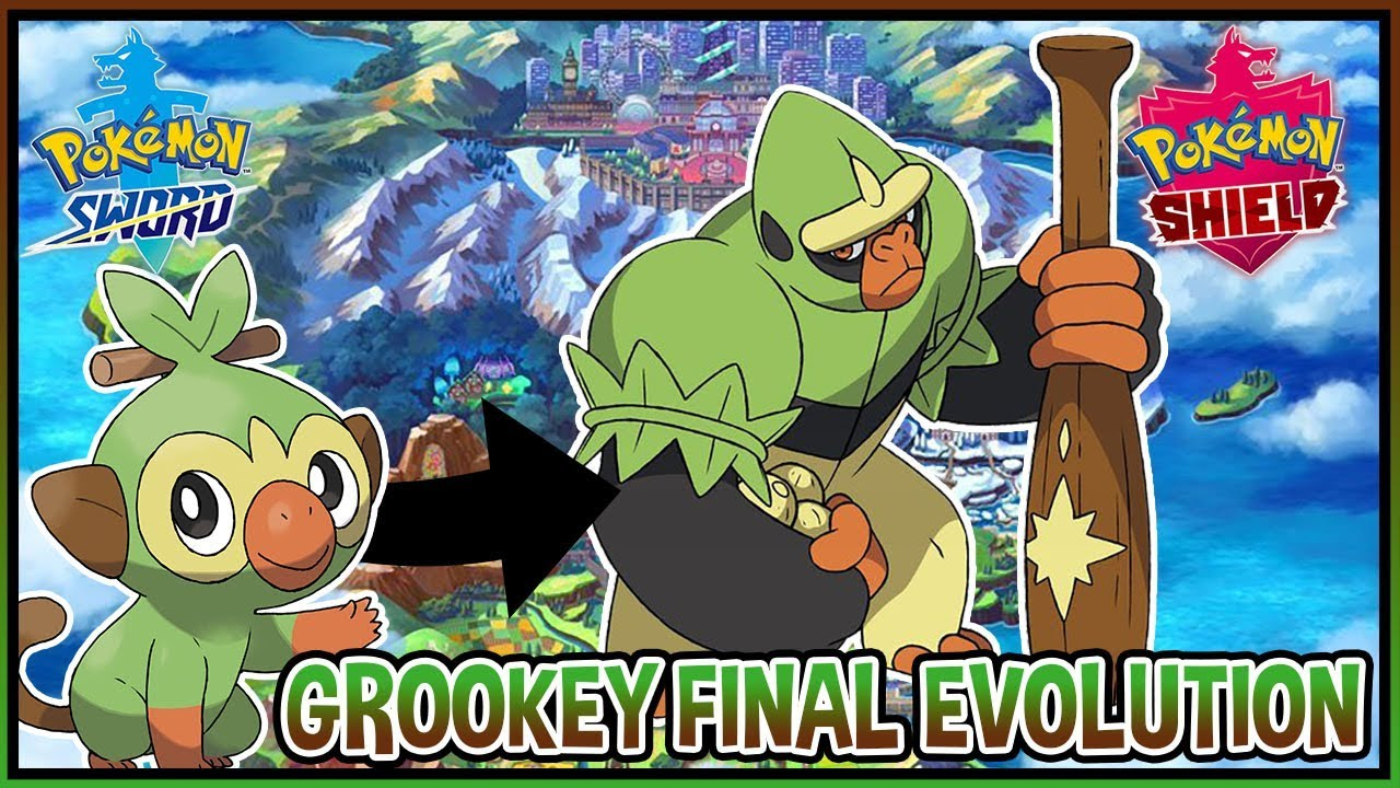 Grookey Final Evolution Fan Made In Pokemon Sword And Pokemon Shield Youtube Grookey pokémon serebii.net pokédex providing all details on moves, stats, abilities, evolution data and locations for pokémon sword & shield. grookey final evolution fan made in pokemon sword and pokemon shield