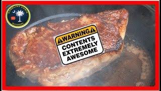 Cast Iron Butter Basted Big Steak