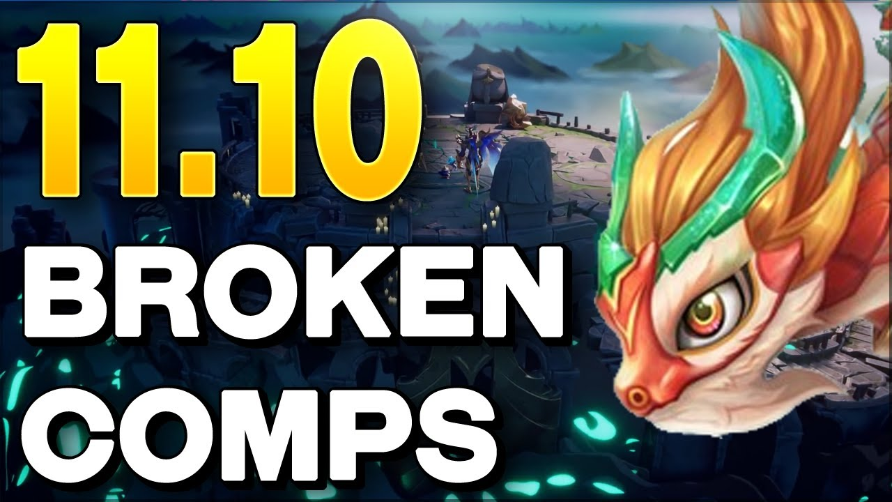 BEST TFT Comps Guide for Set 5 Patch 11.10 Teamfight Tactics | Tier List -  YouTube
