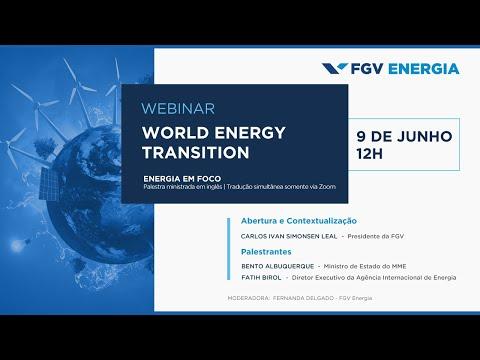 Webinar   World energy transition