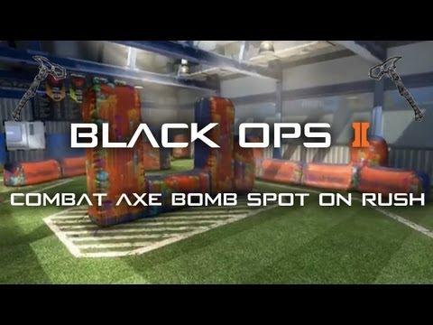Black Ops 2 Rush Combat Axe Bomb Spots - Vengeance DLC Map Pack