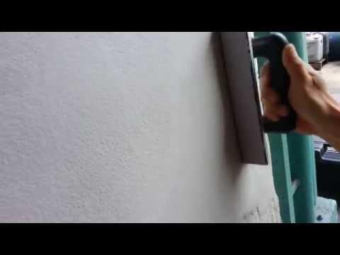 เกรียงมิเนียม+กระดาษทรายสักหลาดขัดปูน BERG