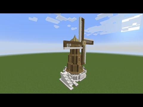 Minecraft Como Fazer um Moinho para Survival