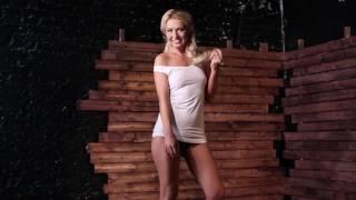 """Сексуальная блондинка. Съемка для конкурса. Девушка в белье. Конкурс """"Секс Символ - Провокатор"""" - 3"""