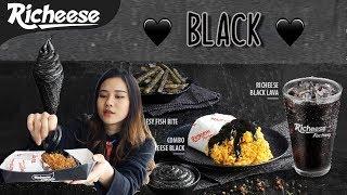 REVIEW RICHEESE BLACK!!!! TERNYATA RASANYA TIDAK SEPERTI YANG DIBAYANGKAN 😱