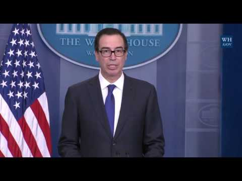 Mnuchin Announces Sanctions on Venezuelan President