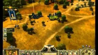 King Arthur The Roleplaying Wargame Gameplay part 2 - Damn spells