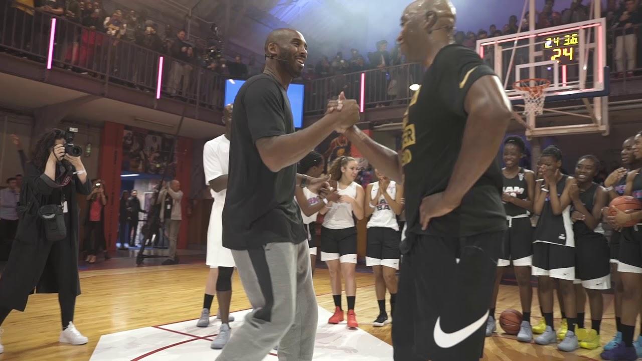 Nike Kobe Bryant Paris Le Quartier oct 2017