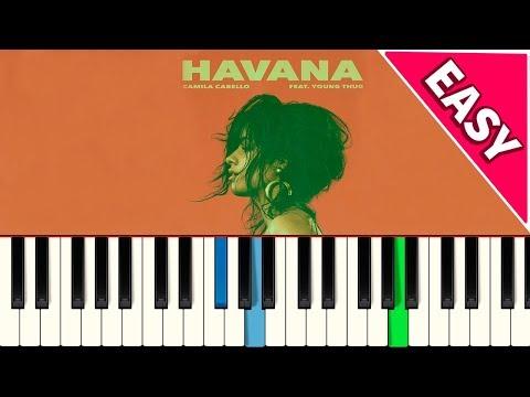 💎 Camila Cabello - Havana - EASY - Piano tutorial - Master Teclas💎