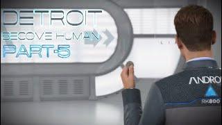 Detroit: Become Human, прохождение, английская озвучка/русские субтитры, часть-5