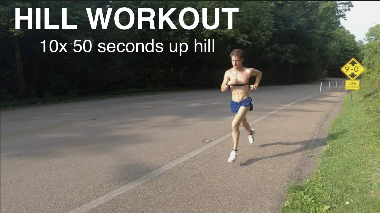 10x 50 SECOND HILL REPEATS! / *Cross Country Workout*