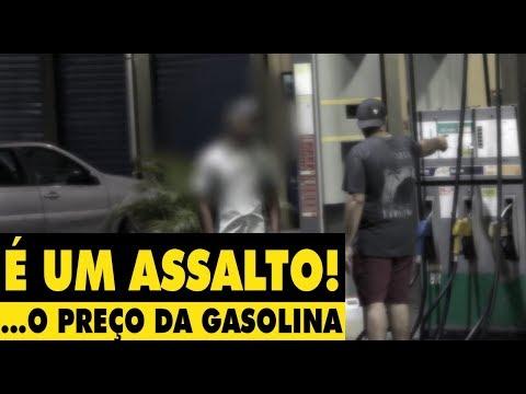 É UM ASSALTO! O Preço dessa gasolina - #DESAFIO 10