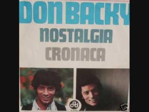 Don Backy- Cronaca