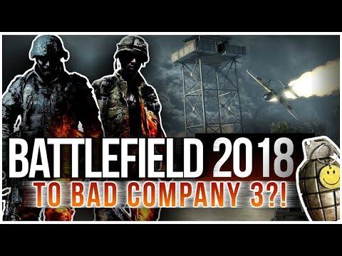 BATTLEFIELD 2018 = BATTLEFIELD BAD COMPANY 3?! - Potężny Przeciek!