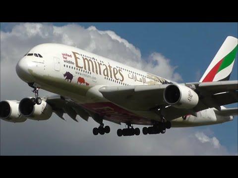 Midday Heavy Arrivals - London Heathrow Airport, LHR | 31/03/16
