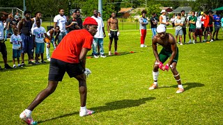 THE LITTEST 7ON7 ON YOUTUBE! (ALABAMA WR SHOWS UP AND EXPOSES TEAMS)