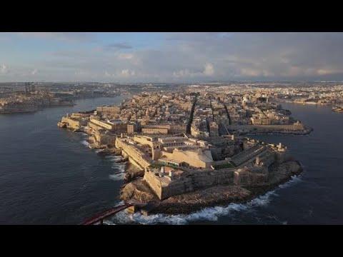 Valletta Malta Drone Footage by MyIslandToursMalta