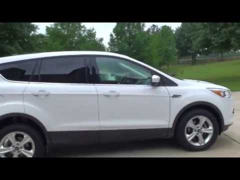 HD VIDEO 2013 FORD ESCAPE SE ECOBOOST WHITE USED FOR SALE SEE WWW SUNSETMOTORS COM