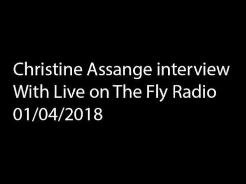Christine Assange phone interview 01/04/2018