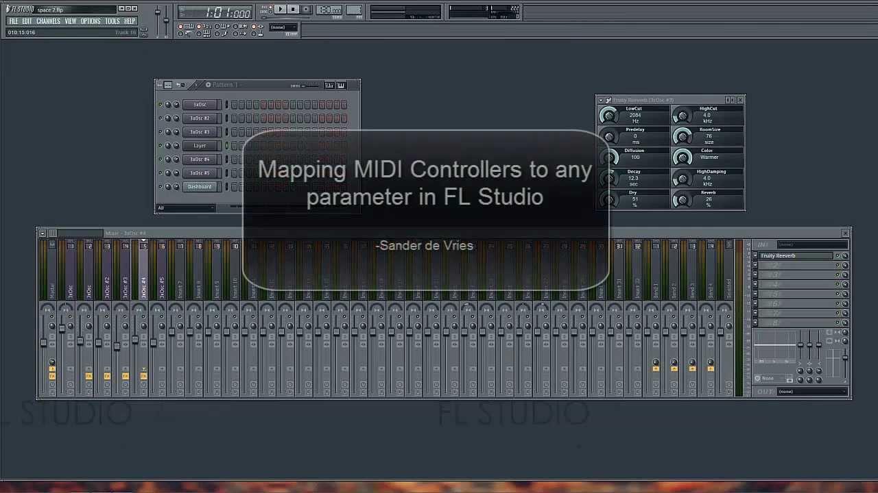 Custom MIDI mapping: MIDI Controllers in FL Studio 11