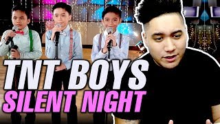 TNT Boys - Silent Night REACTION!!! (Francis, Mackie & Kiefer)