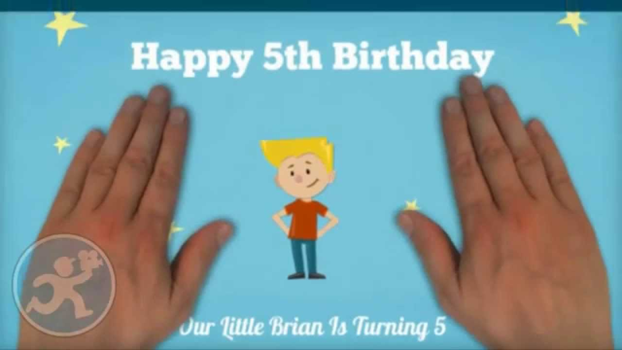 Animated Birthday Invitation Video YouTube - Birthday invitation video