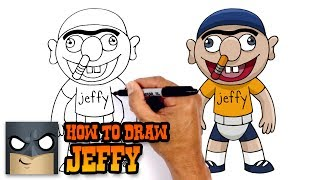 How to Draw Jeffy | SuperMarioLogan