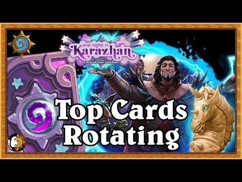 Hearthstone: Best Karazhan Cards Leaving Standard