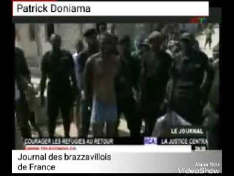 """Quelques bandits appelés """" Bébés noirs""""qui sèment la désolation à Brazzaville sont arrêtés."""