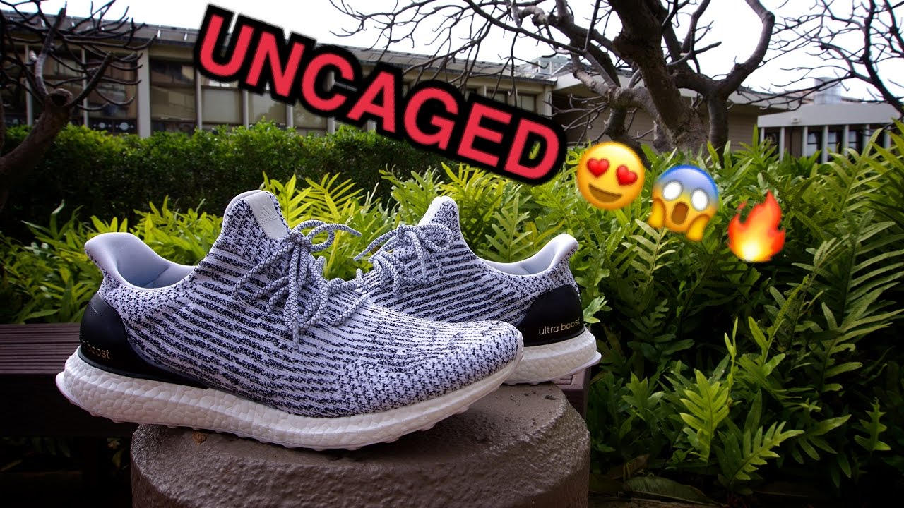 *UNCAGED* ADIDAS ULTRA BOOST 3.0 ZEBRAOREO (ON FEET)