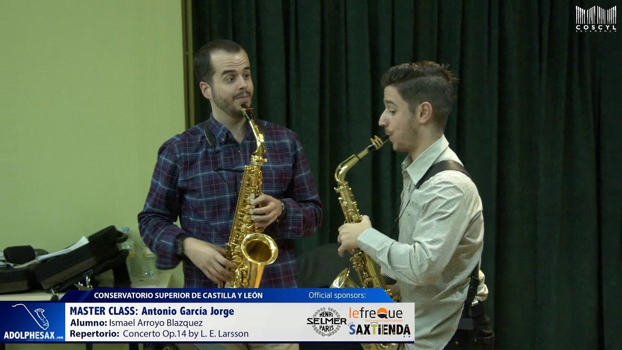 MASTER CLASS - Antonio Garcia Jorge - Ismael Arroyo Blazquez (COSCYL)