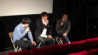 登壇者:田中隼(監督)・飯塚俊光監督(ポエトリーエンジェル / 出演:...