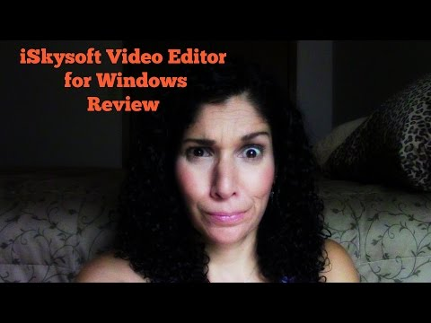 iSkysoft Video Editor Review for Windows