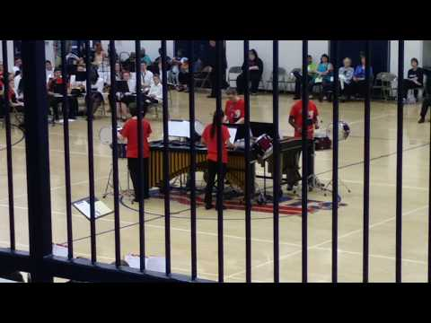 FRACTALIA: performed live by the Livonia Franklin Percussion Ensemble/Quartet