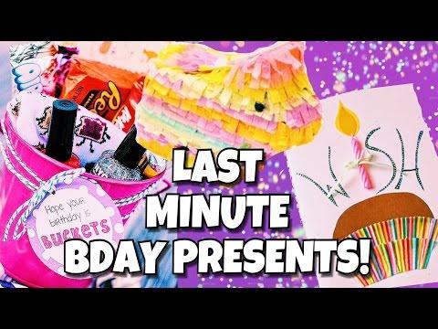 DIY LAST MINUTE TUMBLR BIRTHDAY GIFTS !! | CUTE & EASY DIY BIRTHDAY PRESENTS! | itsjustlilly